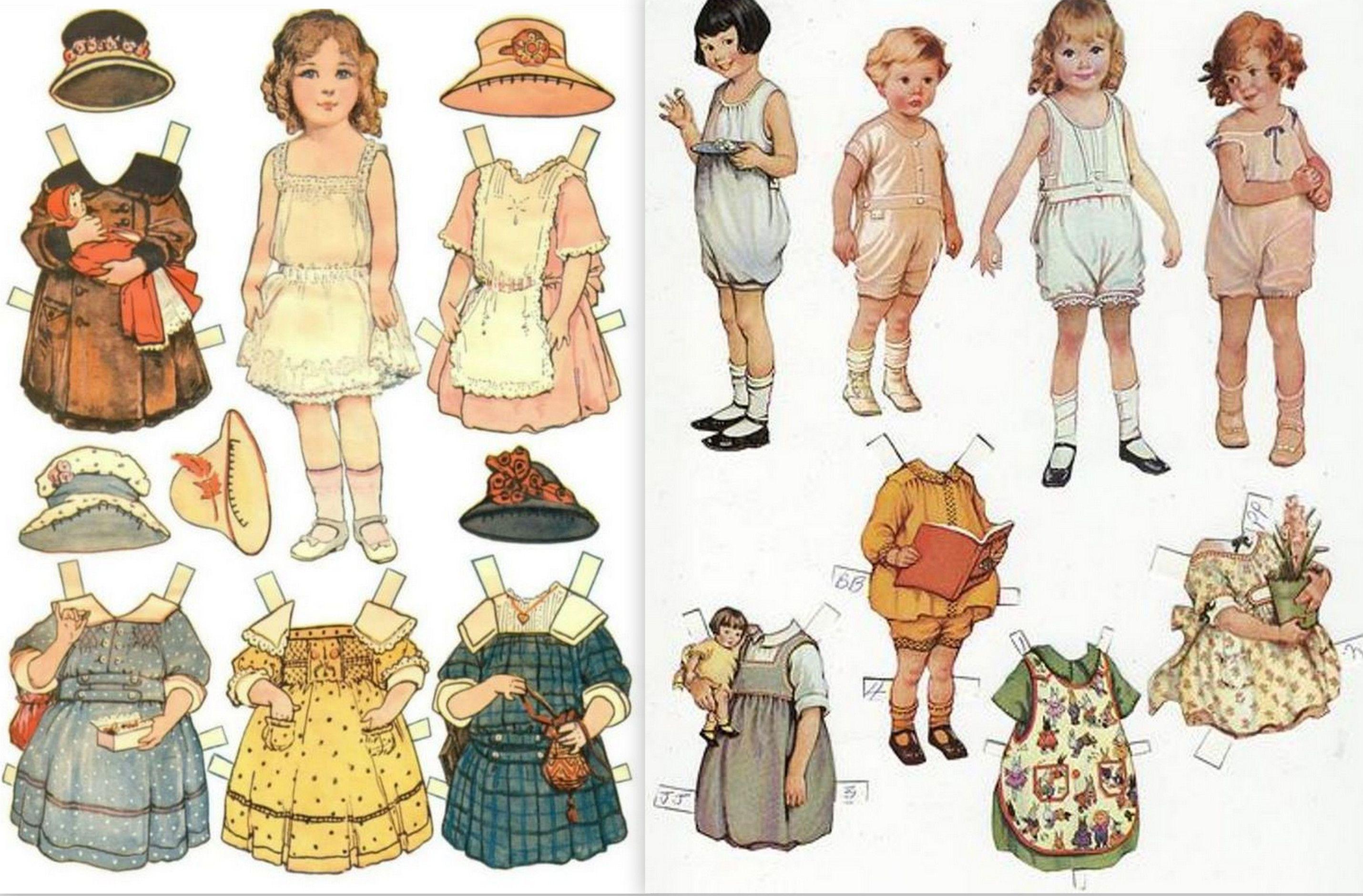 Image Result For Paper Dolls