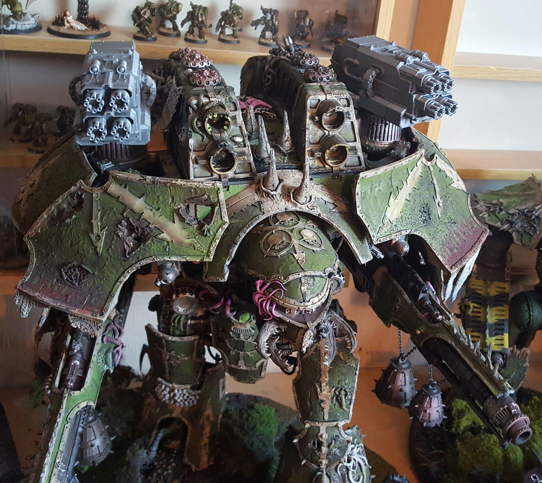 Warhammer 40k Chaos Warlord Titan Conversion Warhammer Warhammer 40k Figures Game Workshop