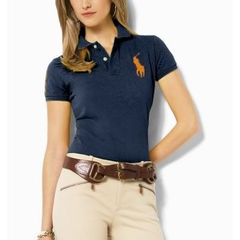 Sport Free Exchange Ralph Lauren Womens Big Pony Polo Short T Shirts