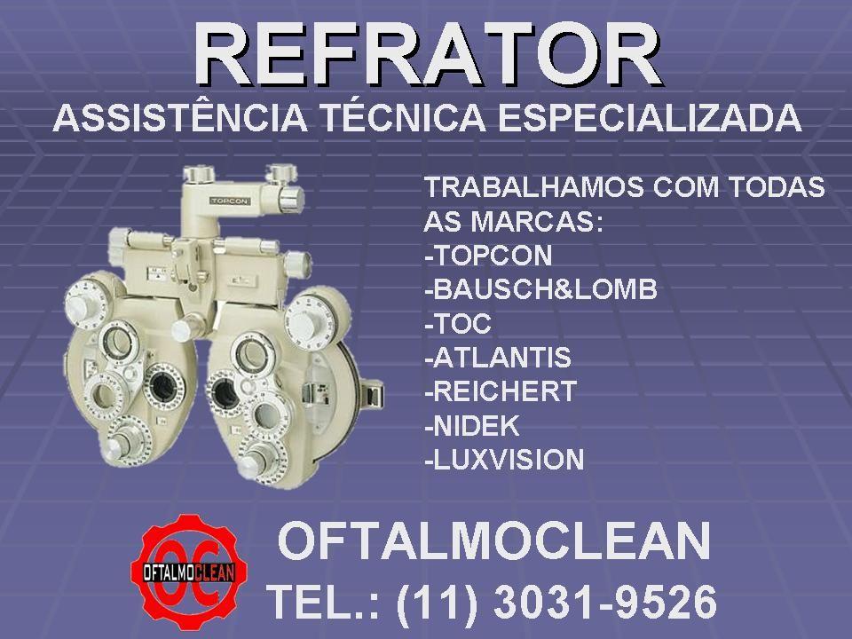 Refrator Greens Calibracao E Revisao Especializada Trabalhamos Com Todos Os Modelos E Marcas De Refrator Topcon Baus Atlantis Assistencia Tecnica American