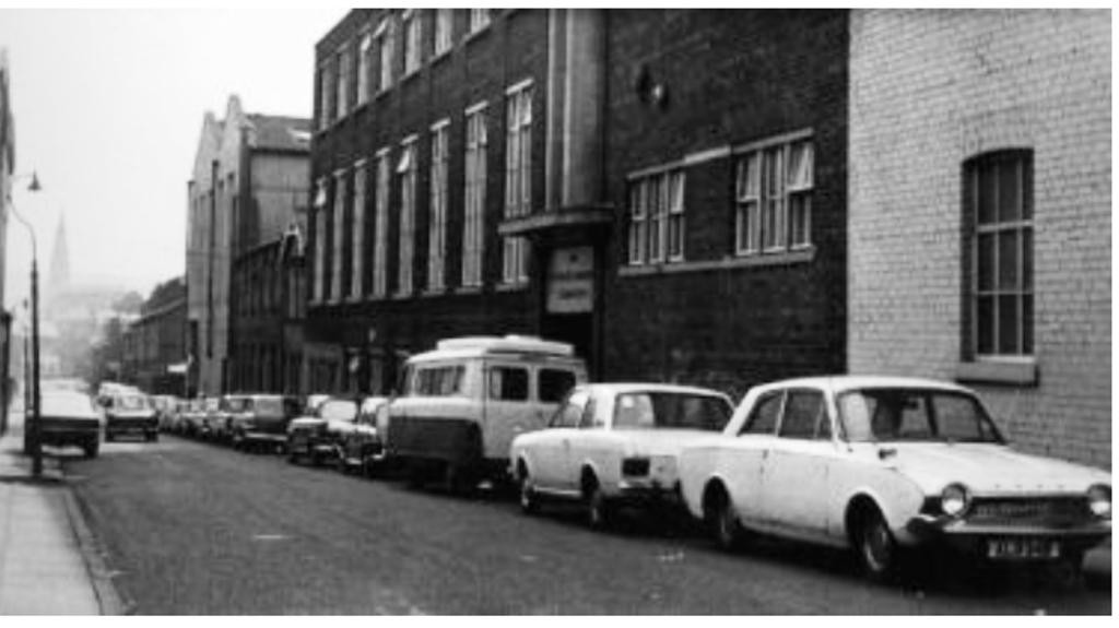 Radcliffe, Bridgefield Street Automatic Sprinkler Company  1971