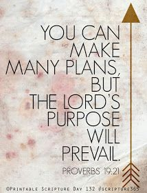"God has a purpose for your life; a plan created individually for you that only you can fulfill. You are the only ""you"" this world had and if you don't play your part no one will. Be inspired to find what God has planned for you and have faith to know that he will equip you to do whatever he is calling you do!- maybe I should listen to my own advice sometime... :/"