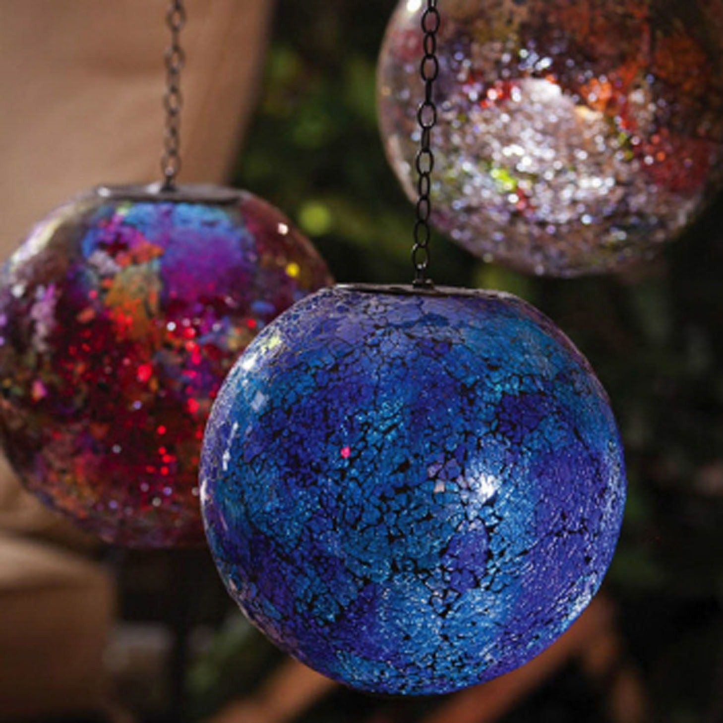 Decorative Mosaic Balls Solar Mosaic Gazing Ball  Great Decorative Piece For Bringing