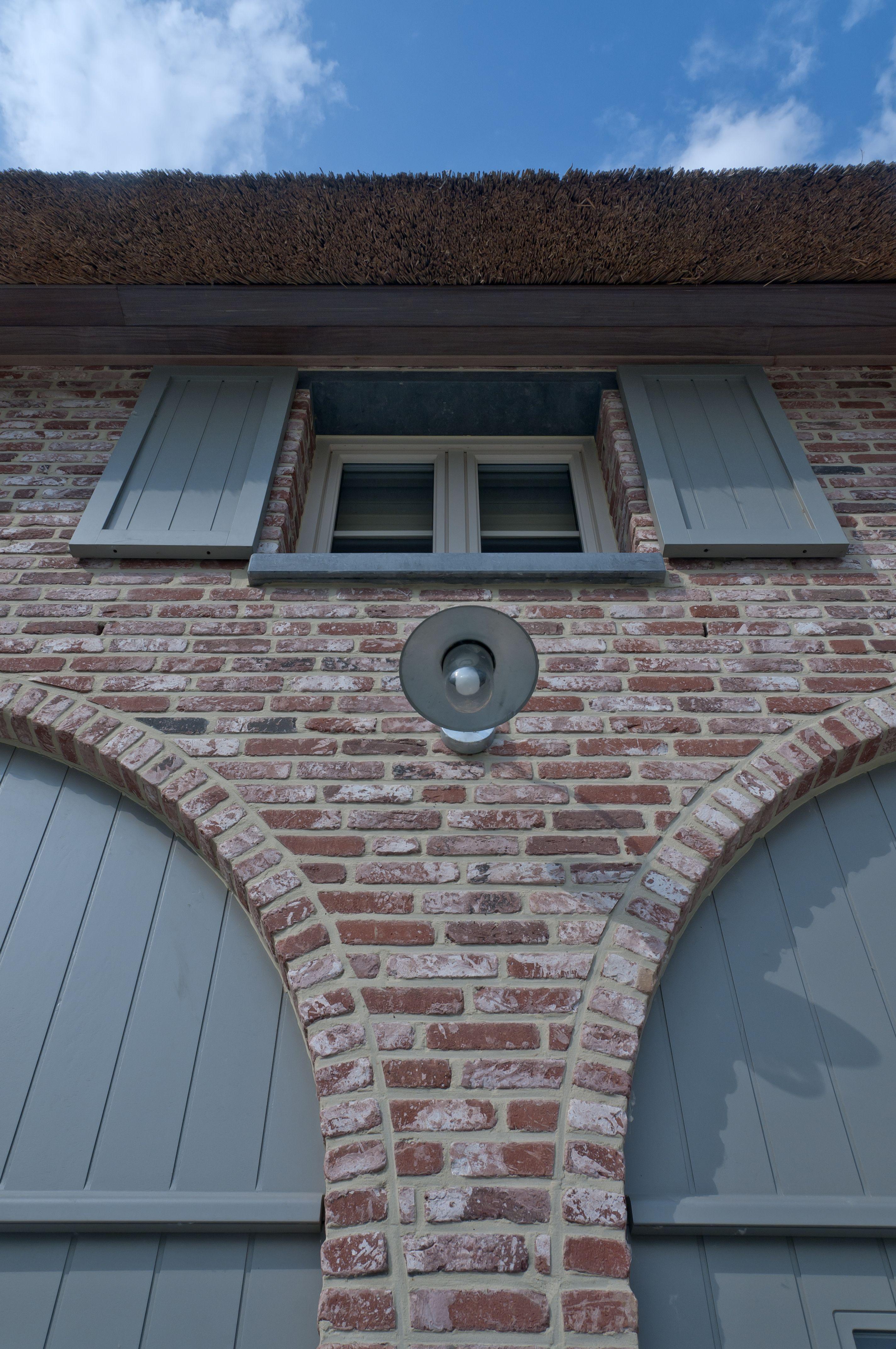 Ziegelhaus design außen realisaties  architect luxe woningen  architectenbureau gruwez