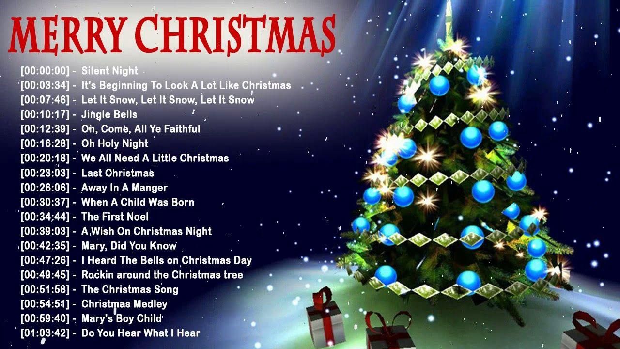 Christmas Music 2018 Best Christmas Songs Collection Top 100 English Best Christmas Songs Christmas Music Christmas Song