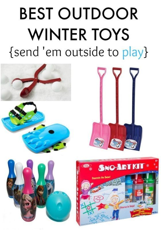 Best Outdoor Winter Toys Send Em Outside To Play