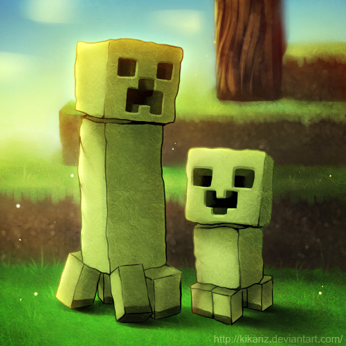 Minecraft Cute Creeper Pictures