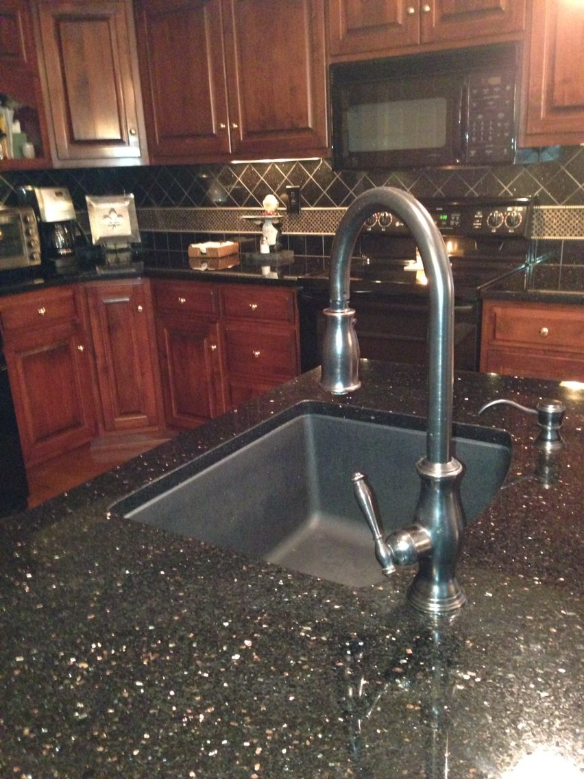 Black Galaxy Granite | D Greenwell | Pinterest
