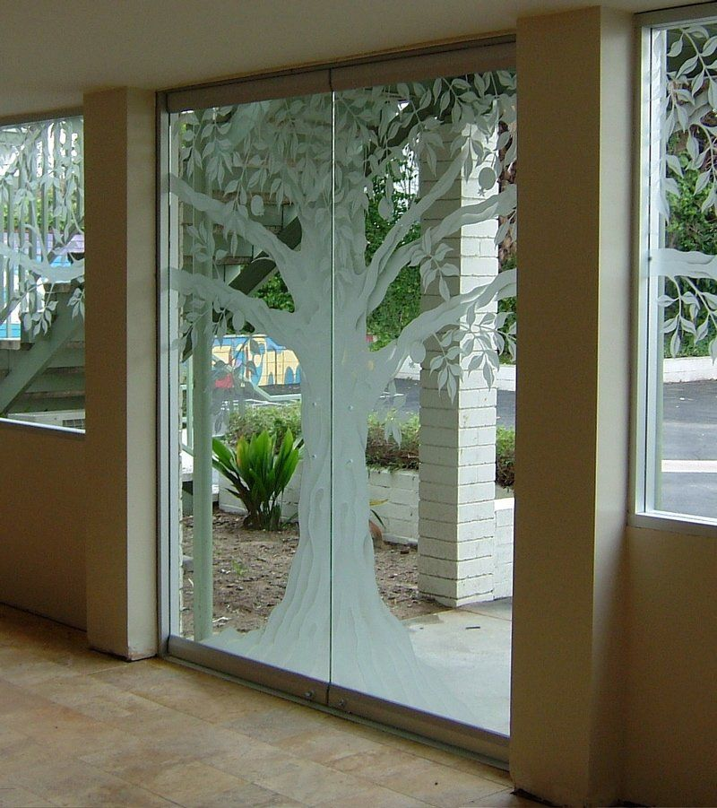 Inspirational Frameless Glass Entry Door