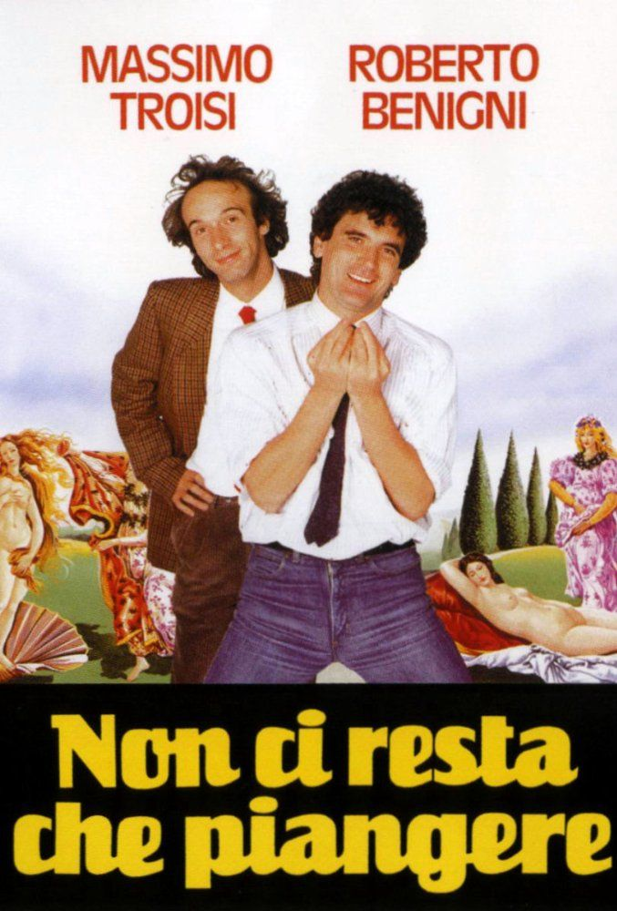 Directed by Roberto Benigni, Massimo Troisi.  With Massimo Troisi, Roberto Benigni, Iris Peynado, Amanda Sandrelli. A teacher (Saverio) and a schoolkeeper (Mario) get lost in the Italian countryside. They find themselves in the late 15th century, they met Leonardo da Vinci and try to teach him how to play cards, they try to stop Columbus, they sing beatles's song etc...