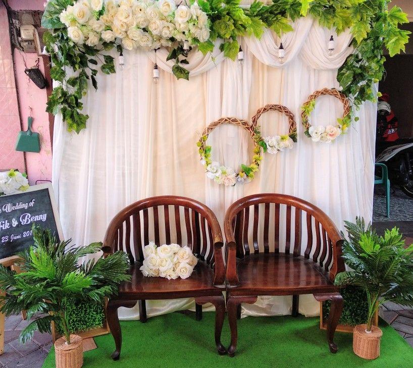 Backdrop Pernikahan Surabaya Tempat Pernikahan Dekorasi Resepsi Pernikahan Latar Belakang Pernikahan