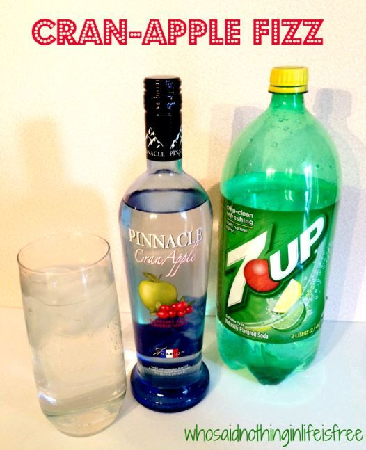 Post Contains Several Cocktail Recipes Using Pinnacle