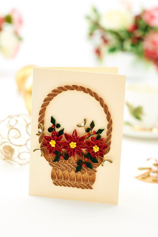 We quill up a Christmas storm this month / Crafts Beautiful November 2014