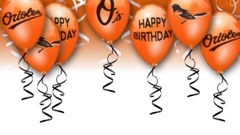 Baltimore Orioles Birthday Balloon Design Assorted Ideas