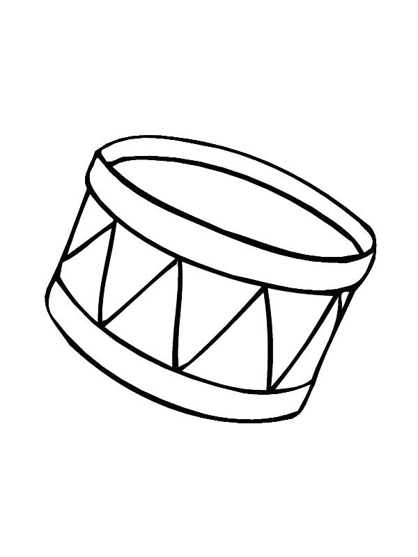 coloring page Musical Instruments - Musical Instruments   HUDEBNÍ ...