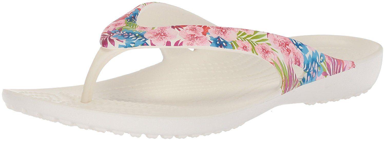 7bde96ed8c1db Crocs Women s Kadee II Graphic Flip Flop. Prettier everyday flip. Women s  Shoes