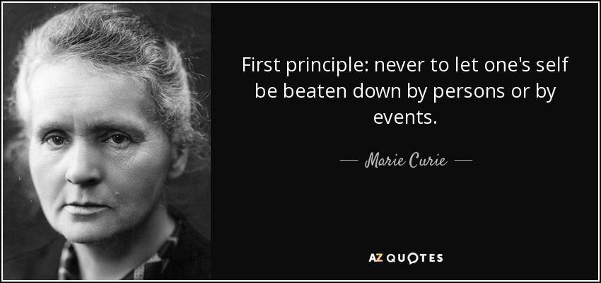 6 inspiring quotes badass female scientist marie curie