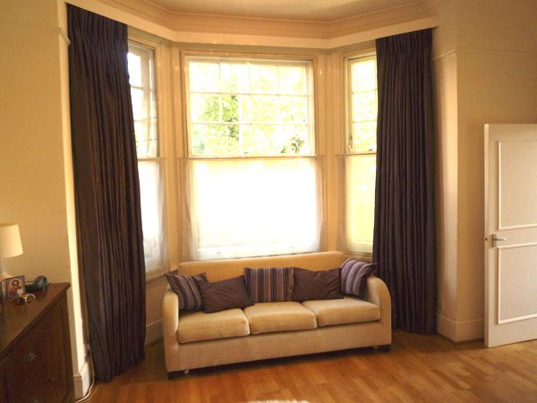 Curtain Ideas For Living Room Bay Window: Thrilling Curtains For Bay Home Windows Discover The
