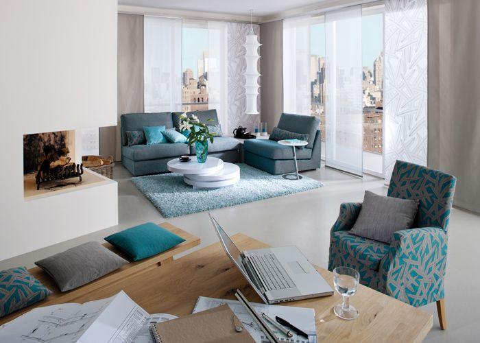 Stunning Wohnzimmer Grau Petrol Ideas - Interior Design Ideas ...