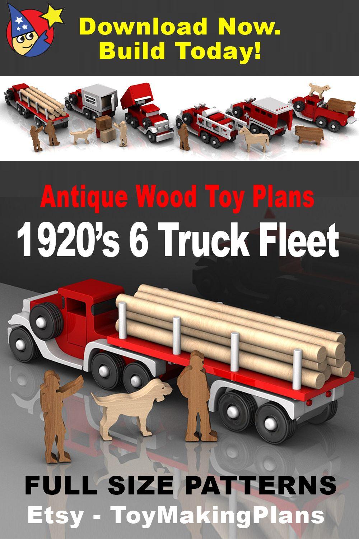 Antique 1920s six truck fleet 5 pdf download wood