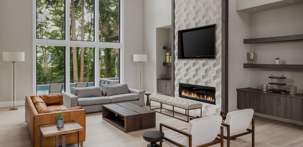 Fireplace in a Leawood, Kansas home in 2020 Fireplace