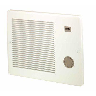 Broan Nutone Electric Fan Wall Insert Heater Wall Fans Electric Fan Kit Homes