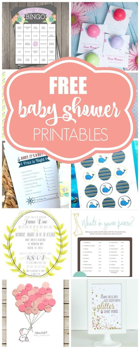 15 free baby shower printables free baby shower printables baby 15 free baby shower printables pretty my party solutioingenieria Gallery