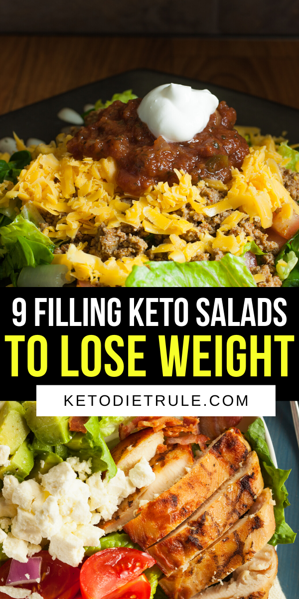 9 Filling Protein-Packed Keto Salad Recipes to Lose Weight