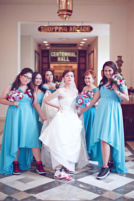 wedding, Bridal robes, Wedding sneakers