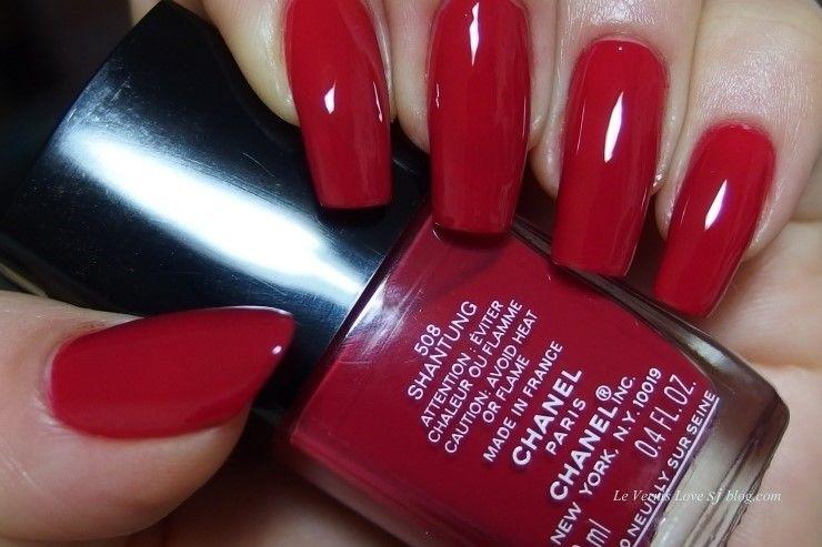 Chanel Le Vernis 508 Shantung Nails Chanel Nail Polish Colors