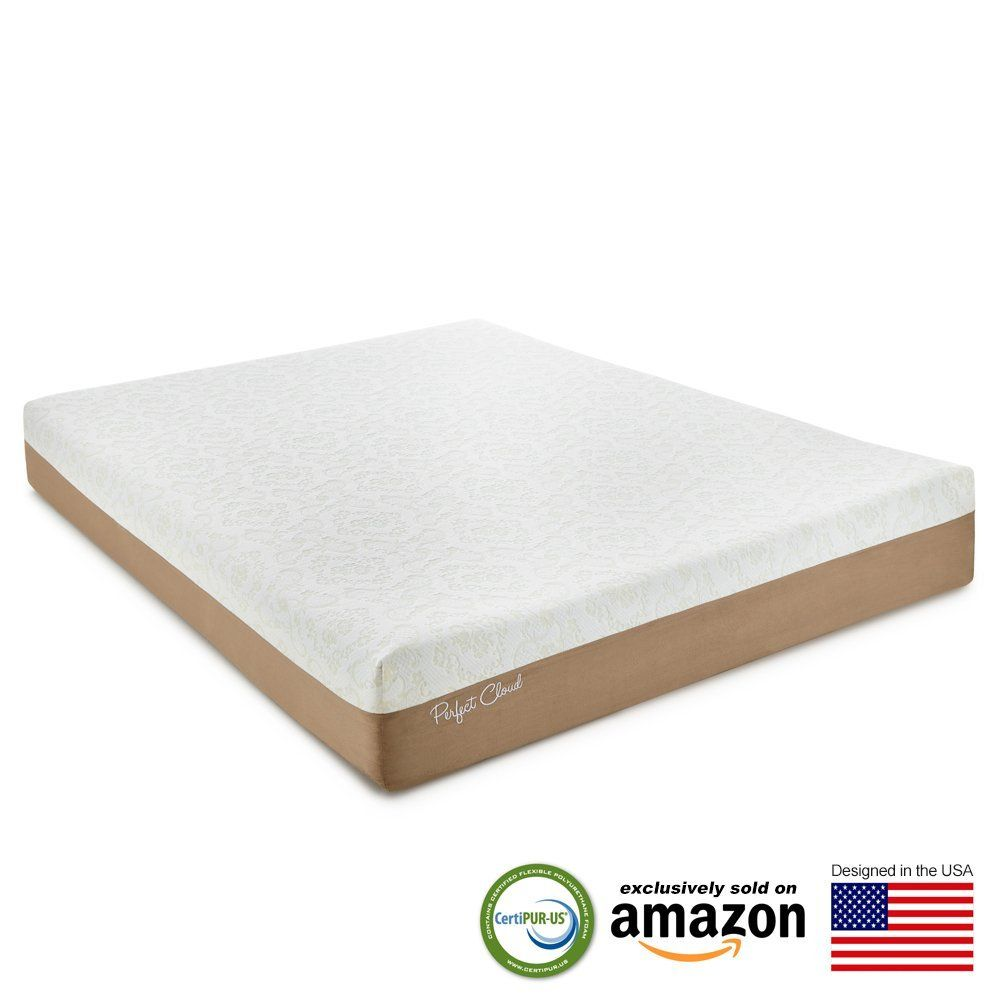Perfect Cloud Atlas Gel Plus 10 Memory Foam Mattress Twin White Mocha To View Further Visi Queen Memory Foam Mattress Memory Foam Mattress Foam Mattress