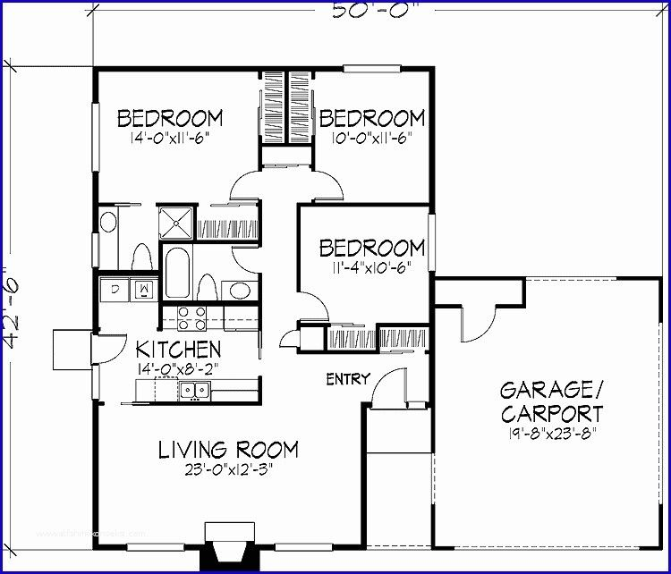 750 Square Foot House Plans And 18 Spectacular 750 Sq Ft House Unique Floor Plans 4 Bedroom House Plans Bedroom House Plans