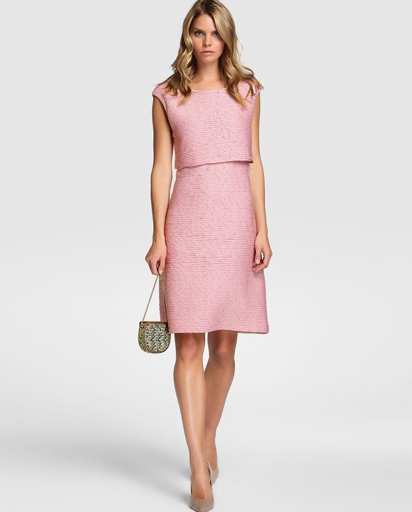 vestidos-rosa-sobrio-moderno | Dresses / Fashion | Pinterest ...