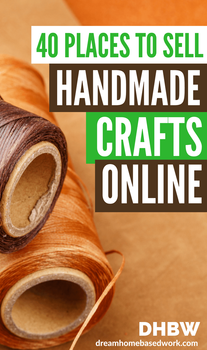 Sell Your Handmade Crafts and Art Online Without Breaking A Sweat #craftstosell