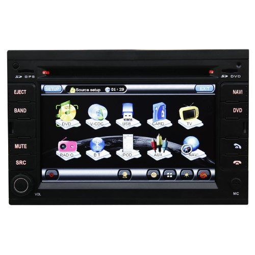 Koolertron For Peugeot 307 Car DVD GPS Sat Nav Navigation