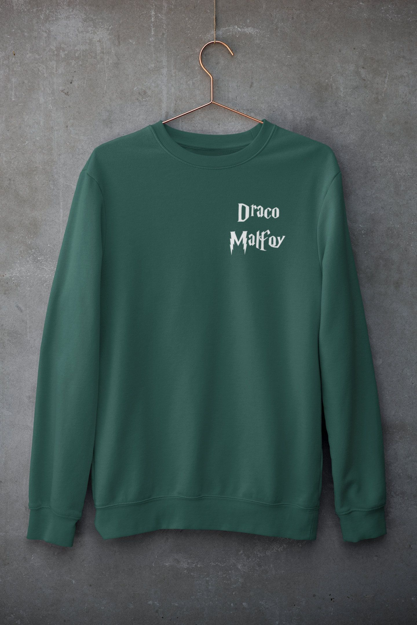 Draco Malfoy Sweatshirt Slytherin Sweatshirt Unisex Heavy Blend Crewneck Sweatshirt Movie Marathon Sweate Sweatshirts Harry Potter Outfits Harry Potter Sweater [ 2158 x 1440 Pixel ]