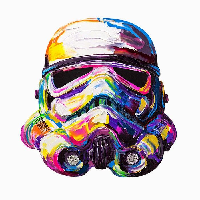 Storm trooper painting by brent estabrook