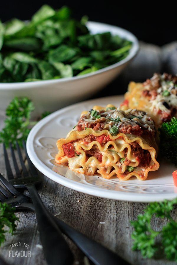 Four Cheese Lasagna Roll Ups   Recipe   Cheese Lasagna, Lasagna Rolls And  Italian Lasagna