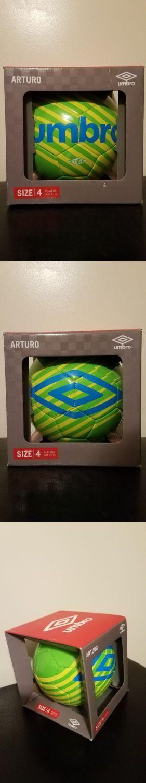 BRAND NEW UMBRO ARTURO SIZE 4 SOCCER BALL IN BOX
