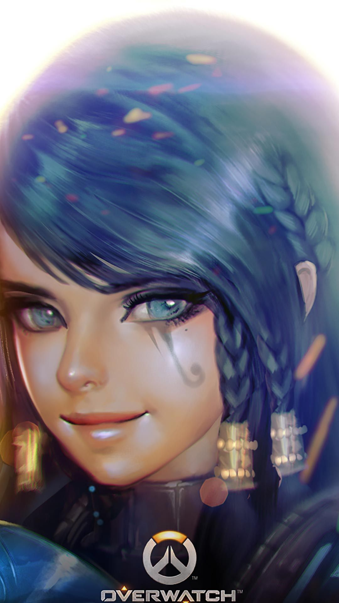 Pharah Beauty Android Iphone Wallpaper Mobile Background