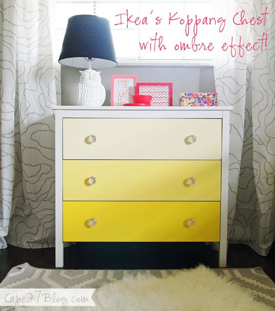Diy Ombre Chest Transformation