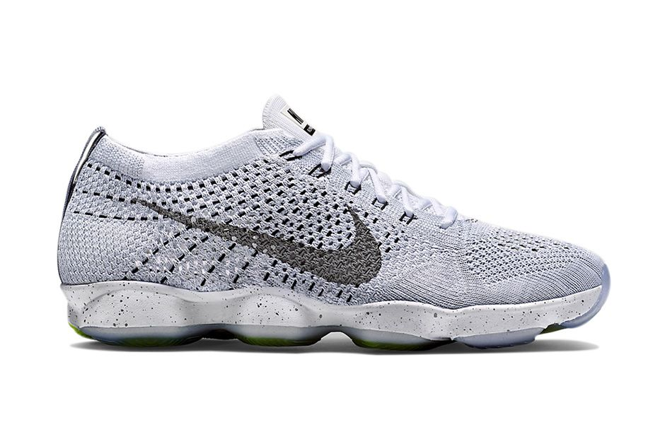 best service d73a6 827d4 This spring, the Nike Flyknit Zoom Agility s appealing design silhouette  will be manufactured in a slew of fresh, simple colorways, equating to a  satisfying ...