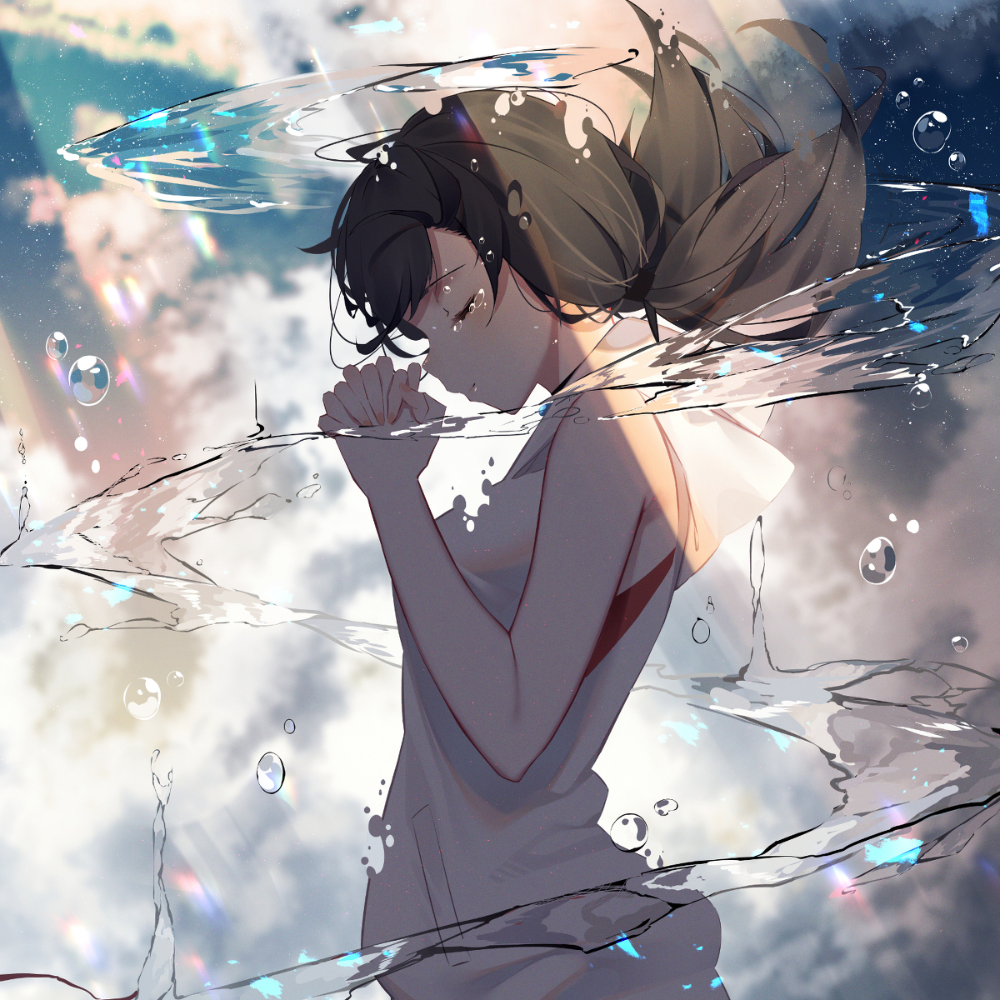 天気の子 ねぇ 今から晴れるよ Kisuiのイラスト Pixiv 壁紙 イラスト アニメ ラブ 壁紙 アニメ