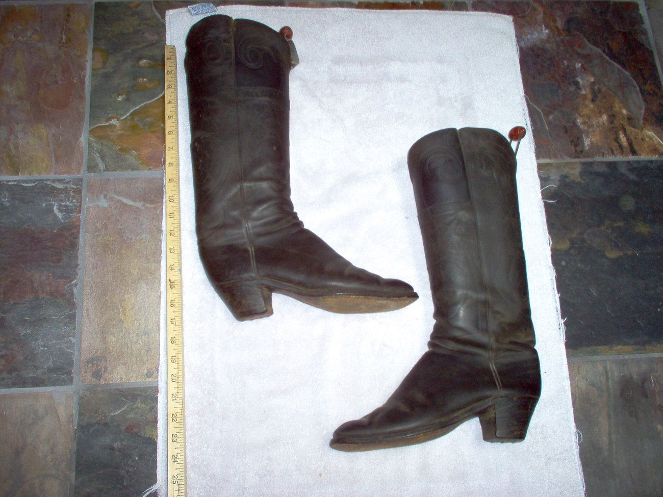Antique Cowboy Boots From The 1880s
