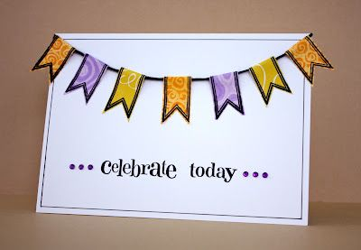 Love the banner on this card ~  The Bright Side of Life: May 2012
