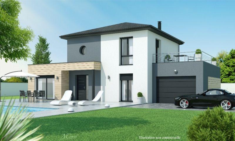 Ce modèle est idéal pour la vie de famille  au rez-de-chaussée, la - modeles de maison a construire