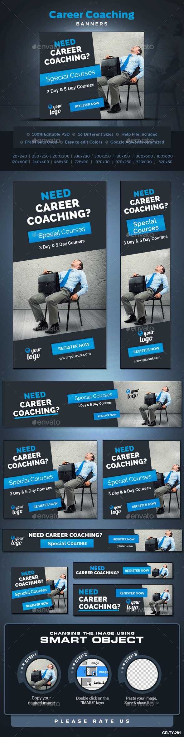 Career Coaching Banners Career Coach Adwords Banner Banner