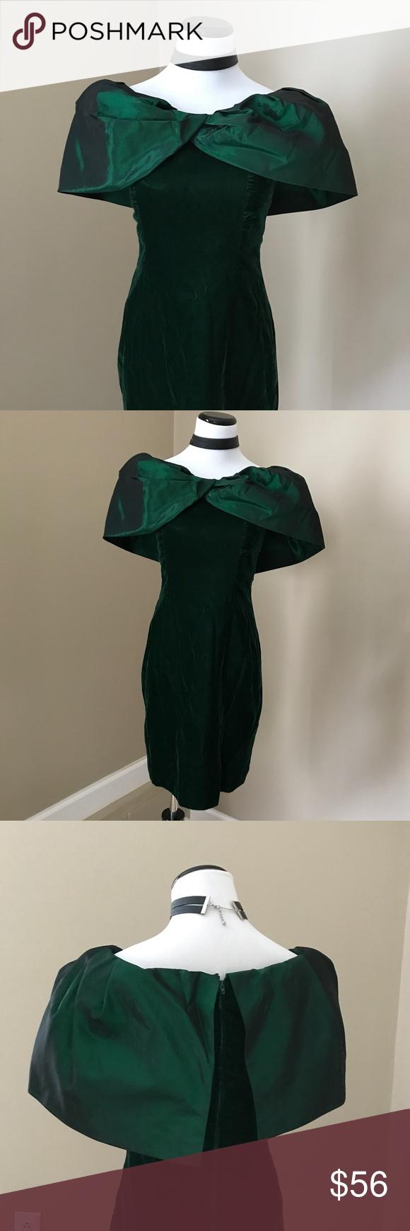 Vintage us prom party green dress my posh picks pinterest