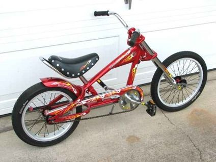 Kids Red Schwinn Stingray Chopper Bicycle Low Rider Bike Beaverton Lowrider Bike Trike Bicycle Bicycle