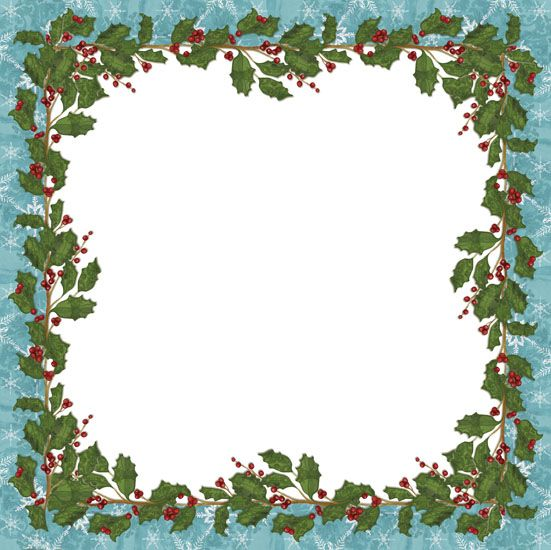 Xmas frame | Frames for Designing and Scrapping | Pinterest | Xmas ...